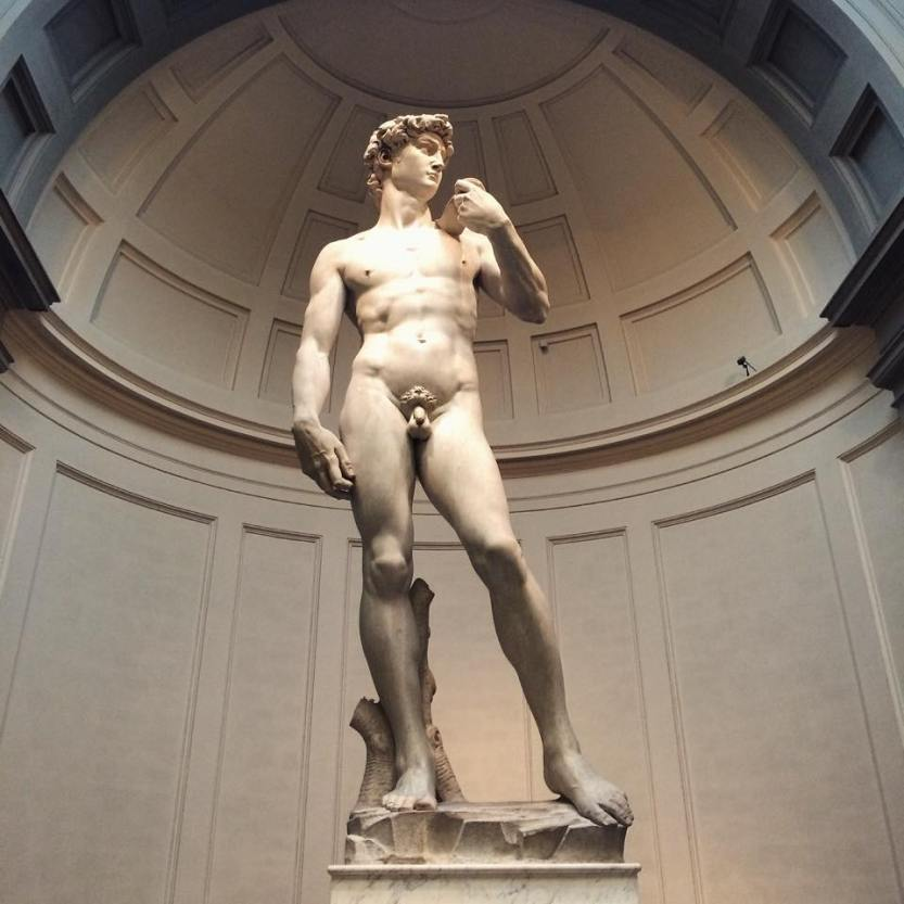 This is what perfection looks like, Michelangelo's David.
